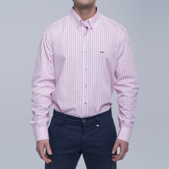 Camisa Kansas cuadros button down
