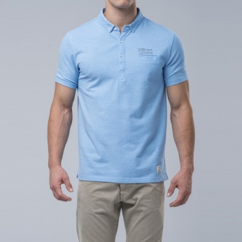 Polo Pollmarl liso button down