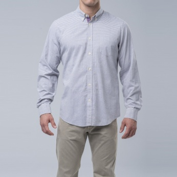 Camisa rayas button down