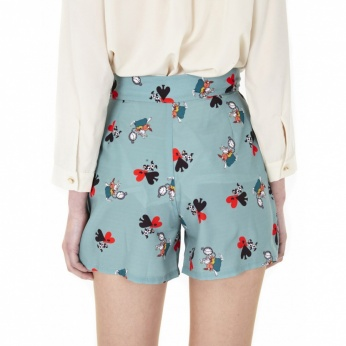 Short Louise estampado