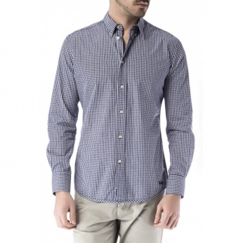 Camisa cuadros button down
