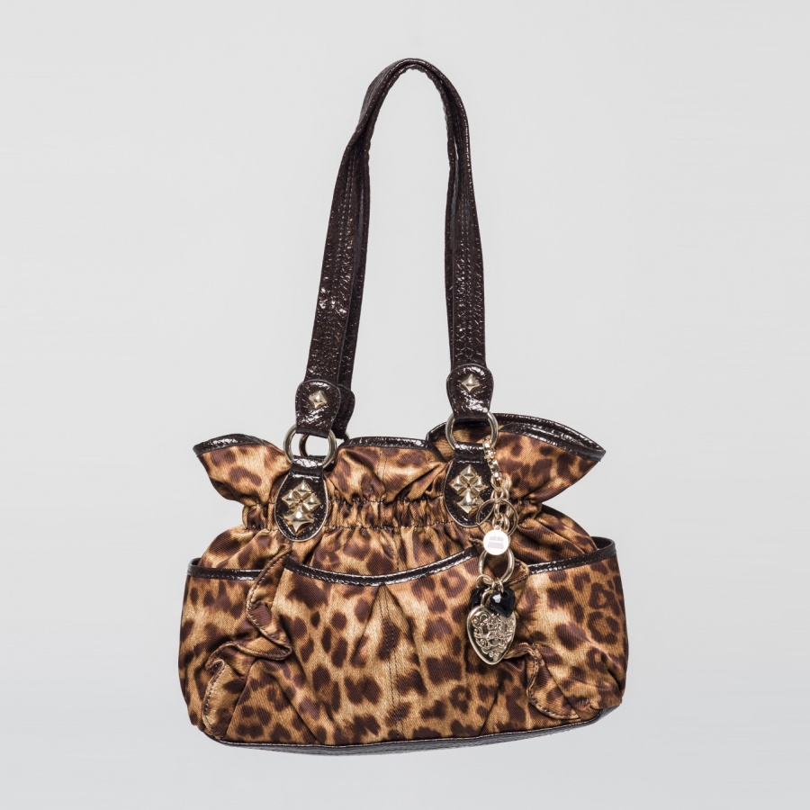Bolso doble asa print animal